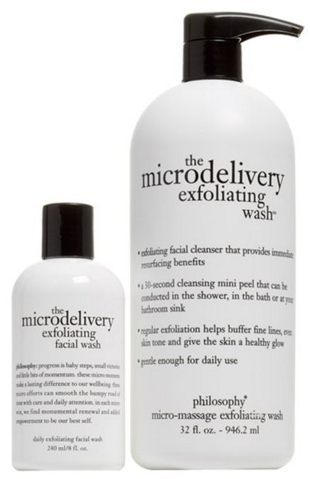 Philosophy 'the microdelivery' exfoliating wash duo