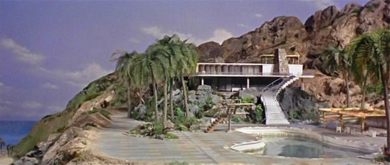 Thunderbird tracy island mid century design