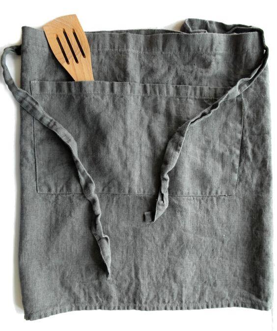 Koch-Back-BBQ-Grill-Küchenschürze/Chef-Schürze von TextilesHomeDecor