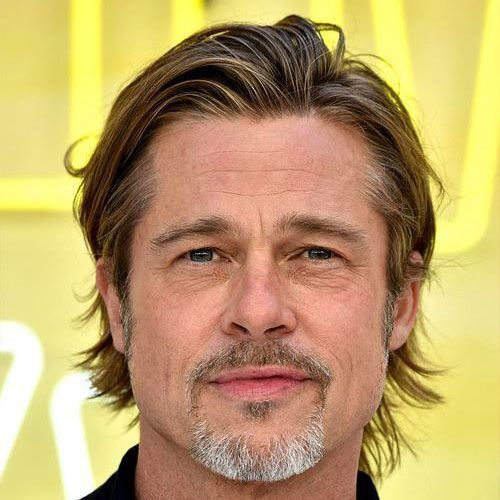 The Best Brad Pitt Haircuts Hairstyles Ultimate Guide In 2020 Brad Pitt Haircut Medium Length Hair Men Brad Pitt Hair