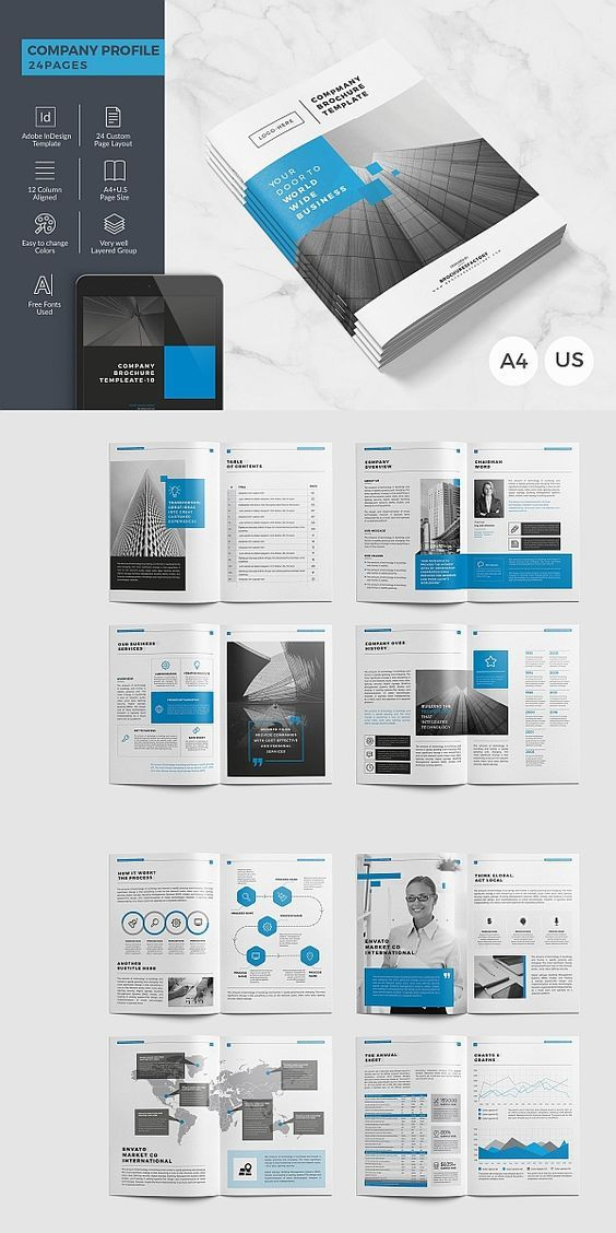 100 Modern Corporate Brochure Templates Free Download Corporate Brochure Design Company Brochure Design Company Profile Design