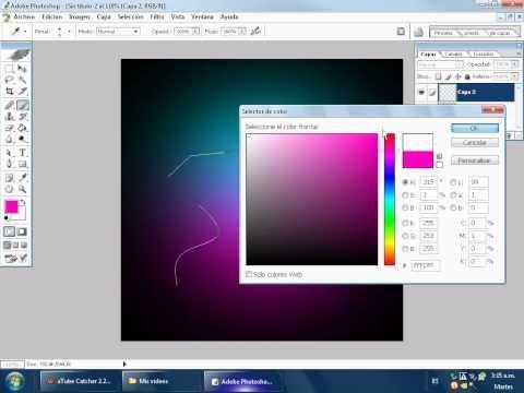 Como Poner Fondo de Color En Photoshop Cs2 - YouTube