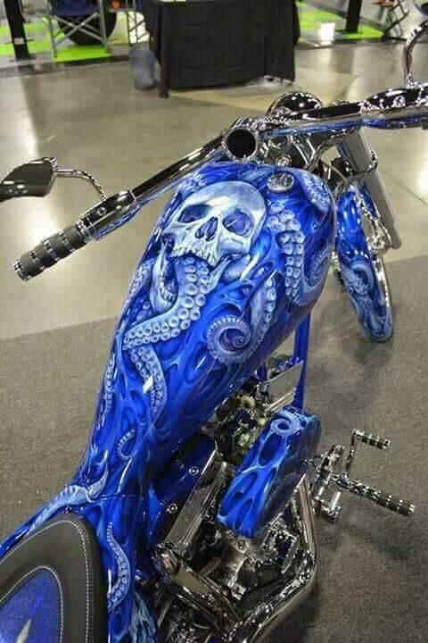 Custom Paint Job Inspirations Bobber Chopper Motorcycles And