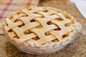 """Martha Stewart's """"Perfect Pie Crust""""... this could come in handy if I ever attempt to make a pie from scratch!"""