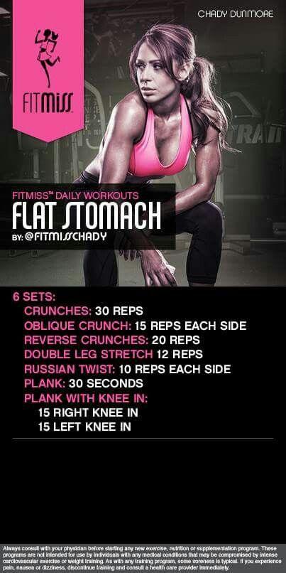 Flat Stomach: