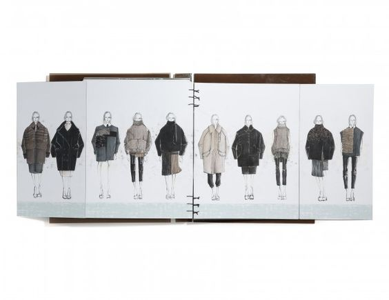 Fashion Sketchbook - fashion design drawings; fashion student portfolio // Anh Phuong Thy D