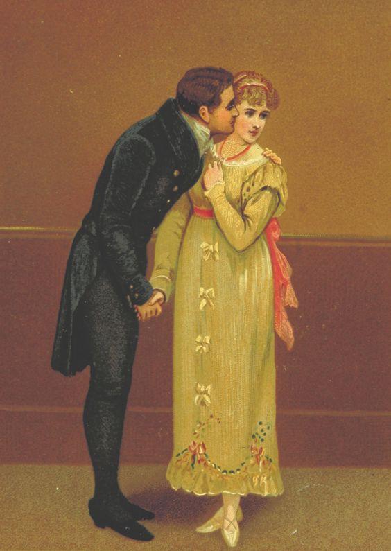caballero indiscreto siglo XIX
