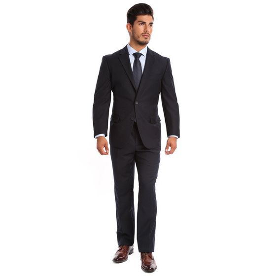 Alberto Cardinali 2-Piece Slim Fit Suit