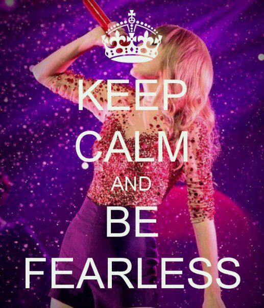 This insperational said by Taylor Swift totally going to help me!!!:) Thank you Taylor<3