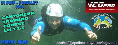 Espeleo Club de Descenso de Cañones (EC/DC): Canyoneer Training Course (Pyrenees-France, 28 jui...