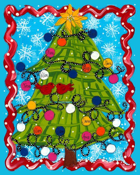 Frameable Christmas Art