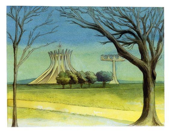 A mostra conta com 61 obras sobre paisagens e pontos significativos das cidades selecionadas