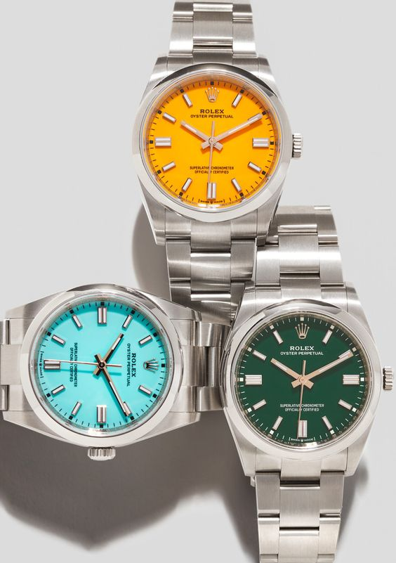 Channel the Resort Spirit With Rolex's Sunny New Collection of Watches