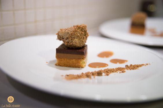 Dessert : Pavé chocolat praliné