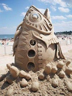 Beautiful Sand Art..