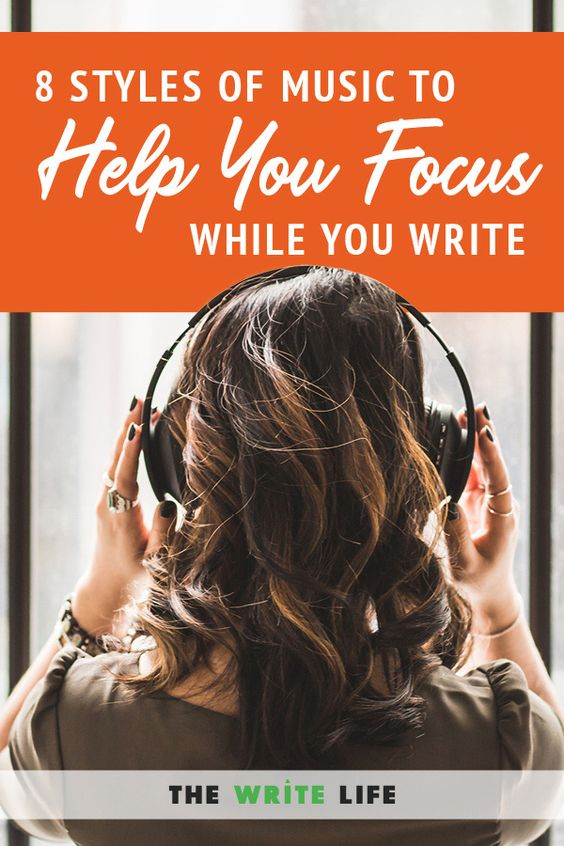 Do you listen to music while you write? Here are 8 styles of music to check out.