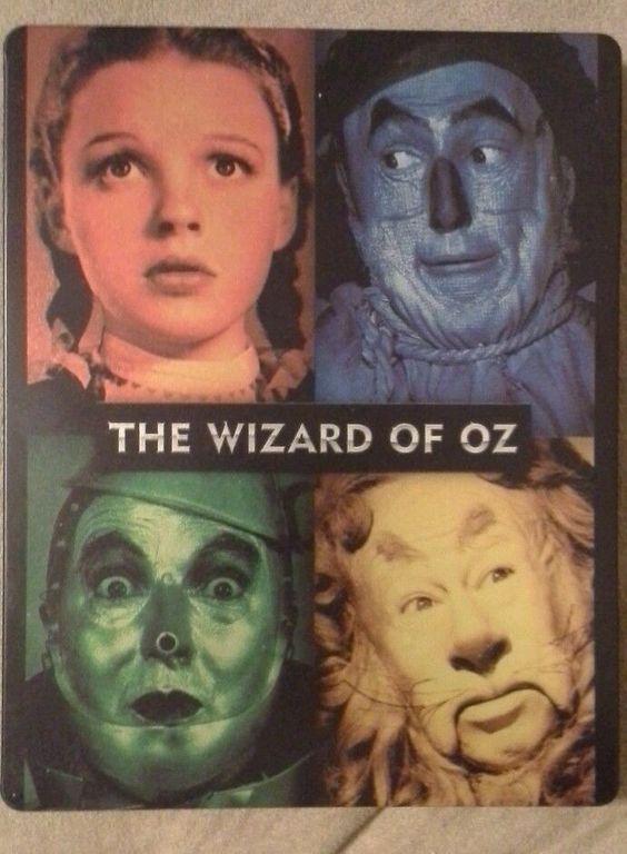 The Wizard of Oz (Blu-ray Disc, 2013) Steelbook