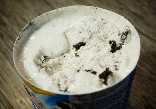 Paso #3 de Cómo prevenir la formación de hielo en el Helado