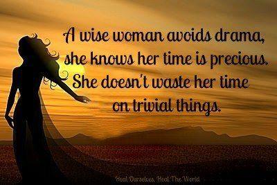 Are you a wise woman?  https://facebook.com/transformandgrowrich