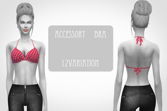chocolatte*sims — Accessory bras <3   Sims 4 Updates -♦- Sims Finds & Sims Must Haves -♦- Free Sims Downloads