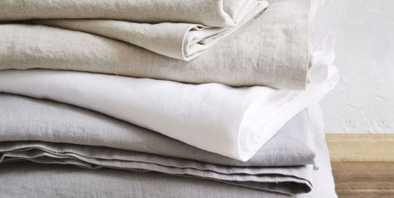 Linen Sheets - check various designs and colors on Pretty Home