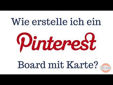 ▶ Pinterest Board mit Karte (Teil 7) - YouTube. Pinterest für Anfänger - der Einsteiger Kurs. Pinterest Tutorial auf Deutsch.