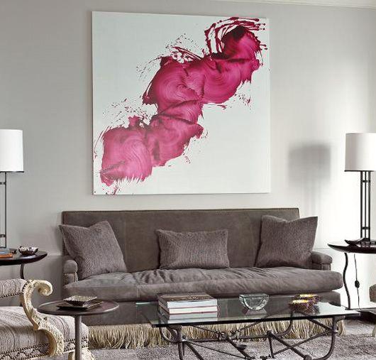 design : wohnzimmer grau magenta ~ inspirierende bilder von ... - Wohnzimmer Grau Magenta