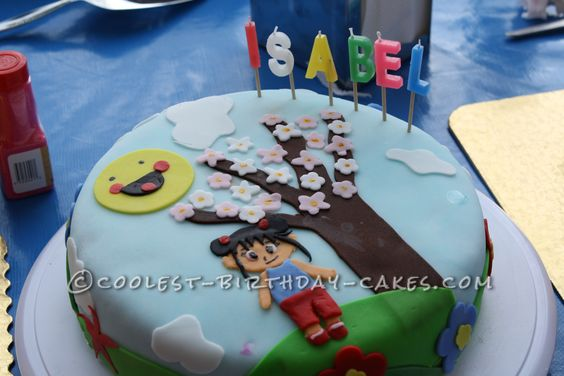 Coolest Ni Hao Kai Lan Birthday Cake... This website is the Pinterest of birthday cake ideas