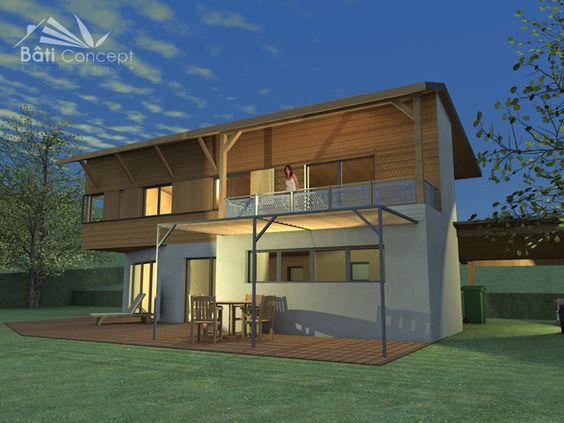 Construction maison passive cout maisons en bois pinterest construction - Cout construction hangar ...