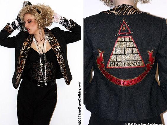 Desperately Seeking Susan jacket, handmade | 80s Madonna ...