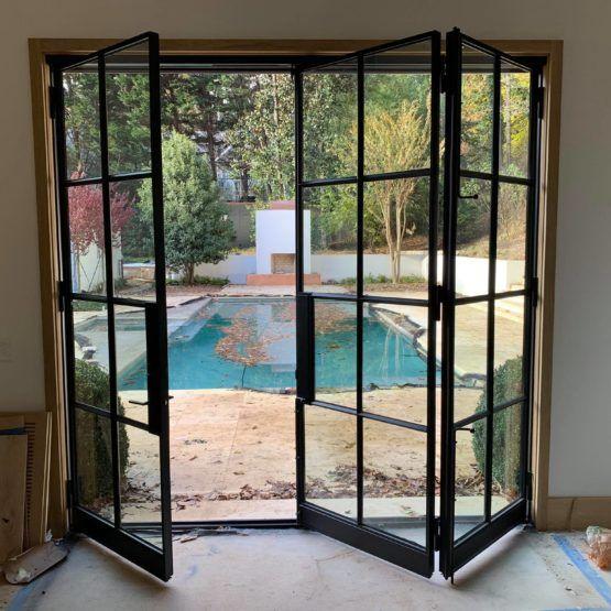 Bi Fold Doors Steel Doors Craftsman Front Doors Bifold Doors