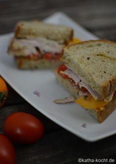 Sommerliches Spanferkel Sandwich - Katha-kocht!