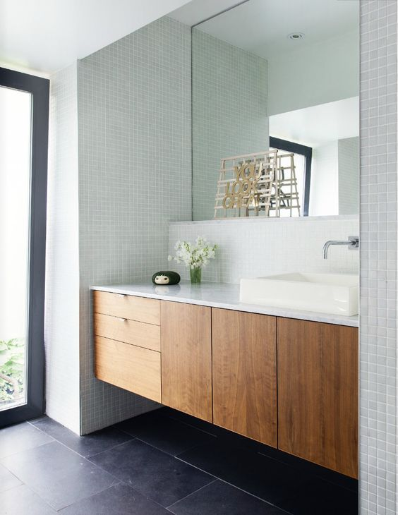 Shaun todd 39 s home covet garden october 2013 issue 38 for Floating bathroom cupboards