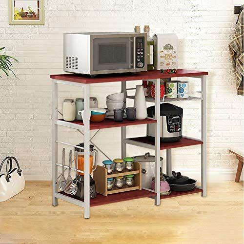 Kitchen Baker S Rack Salaheiyodd 3 Tier Utility Storage Shelf