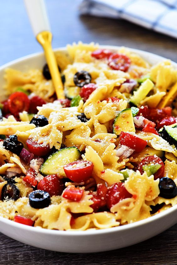 California Pasta Salad - Life In The Lofthouse