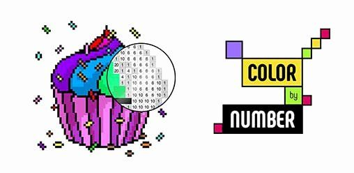 Unicorn Coloring Book Pixel Art Awesome Color By Number Coloring Book Pixel Art 1 0 2 Premium Apk Pixel Art Coloring Books Color