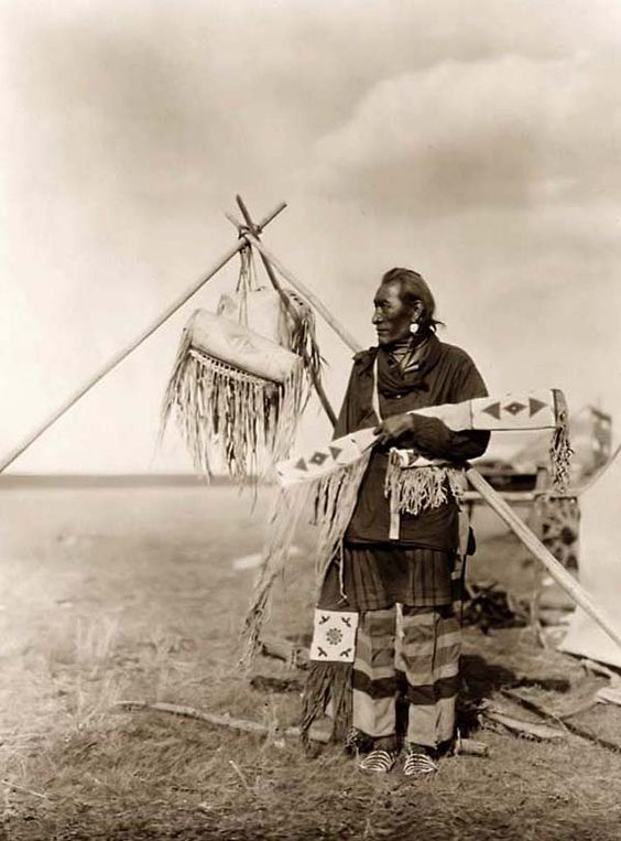 Blackfoot Indian Camp