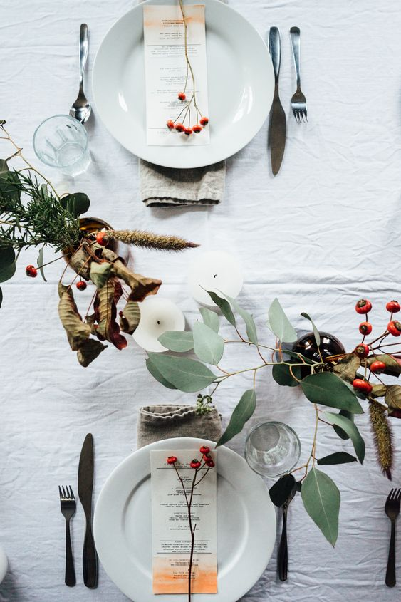 Beautiful Table Setting | Tending the Table