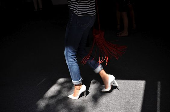 oh por Dios!! tienen q ser mios. Le Coquelicot: NYFW Details 1: llegando a los desfiles.