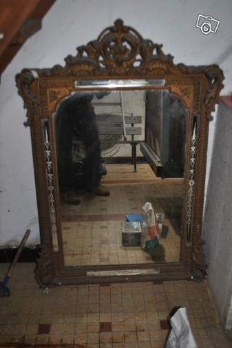 Miroir ancien d coration vend e 80 sur le for Le bon coin paris decoration
