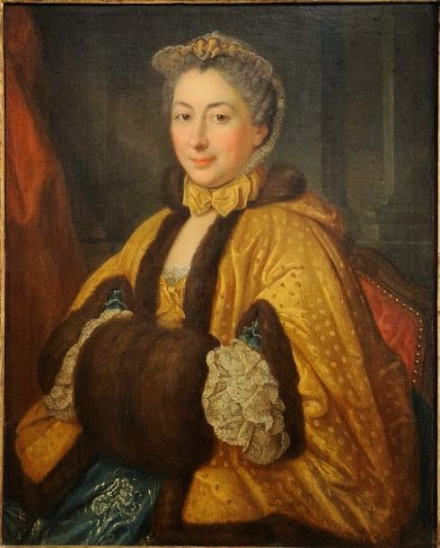 Donatien Donotte, Portrait of a Lady, 1760