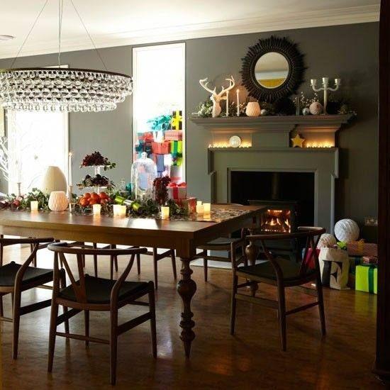 Diningroom Dining Room Victorian Green Dining Room Festive Dining Room