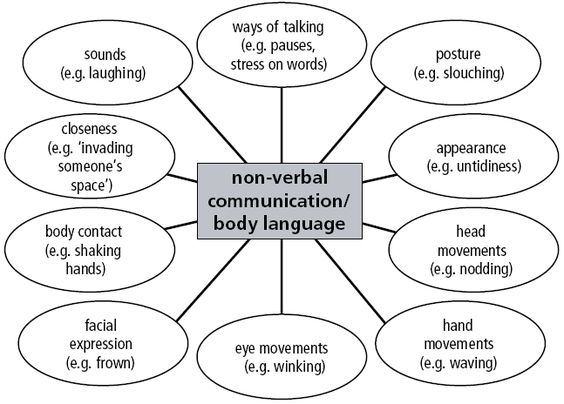 Great model of being non verbal