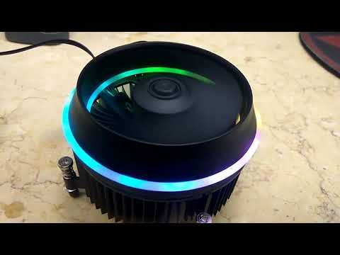 Aigo Darkflash Shadow Air Cooler Aura Sync Unboxing And Showdown