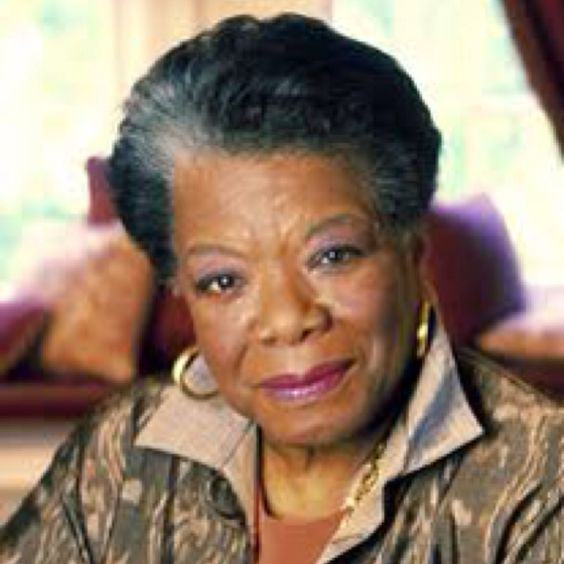 Spend an hour or two with Maya Angelou