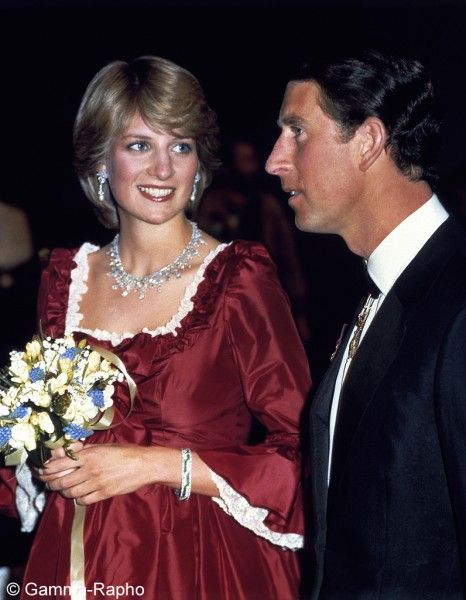 4 March 1982, Prince Charles and Diana