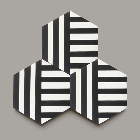 Cross Stripe 8 Hex Special Order Cle Tile Tile Patterns Cement Tile