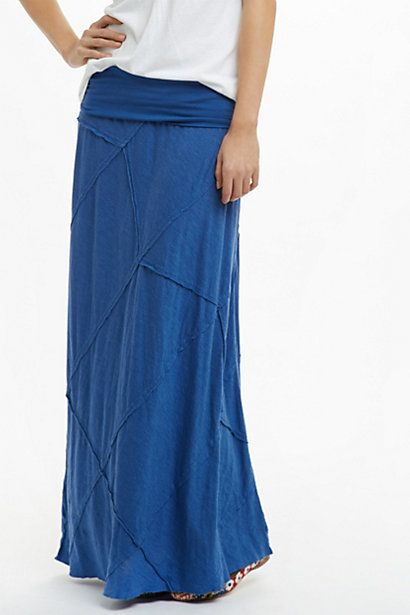 Niguel Maxi Skirt #anthropologie--Maybe the orange color.  This will be perfect for summer and Italy trip.