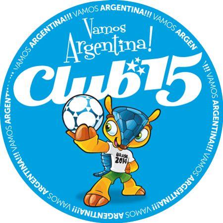 Cliente: Club 15 Trabajo: diseño de pin