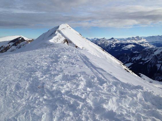 Glatte Grat beim Brisen, Zentralschweiz